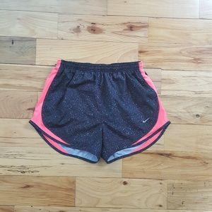 Nike Speckled Dri Fit Running Shorts Size M